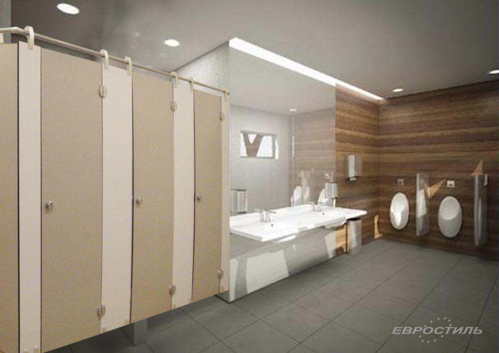 пластиковые туалетные кабинк