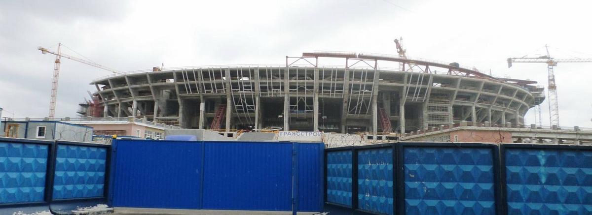 строящийся стадион зенит арена