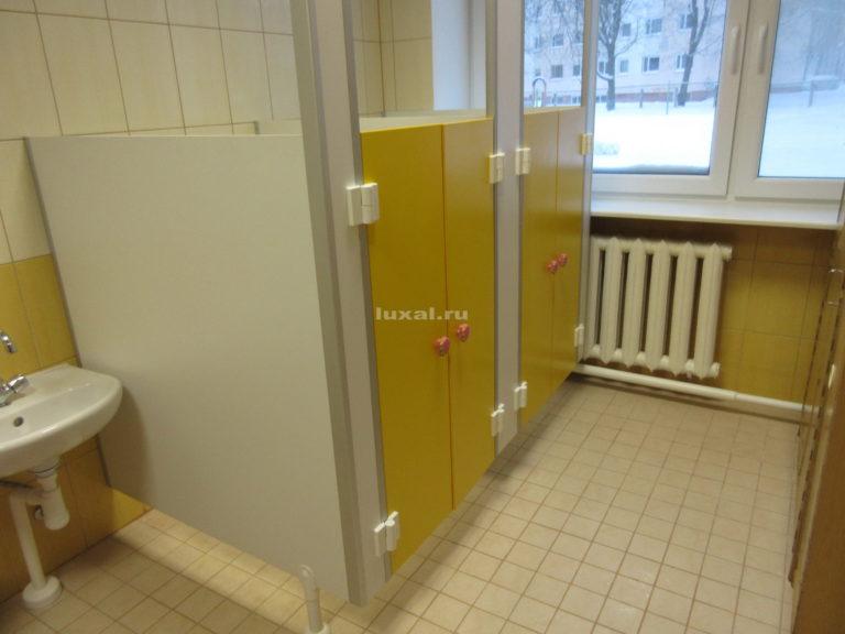 эксклюзивные туалетные кабинки для детсада