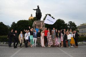 КОмпания Евростиль - корпоратив 20 лет