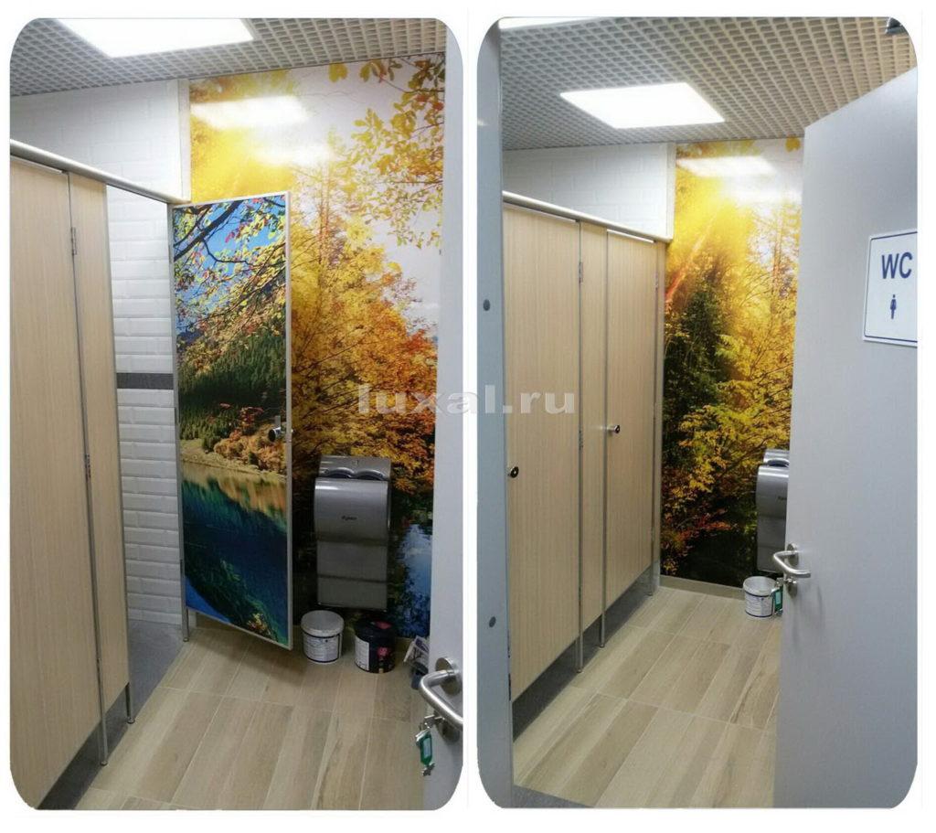 туалетные кабины ЛДСП на заказ дизайн
