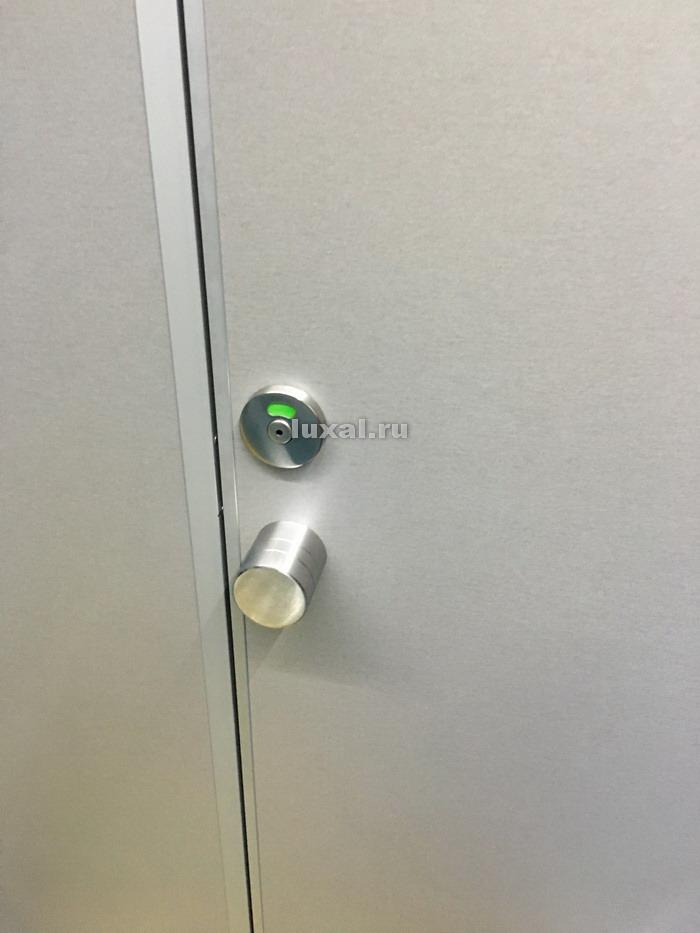 ручки для туалетных кабин металлические