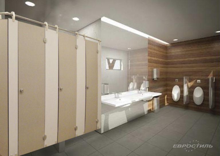 туалетная комната в офисе