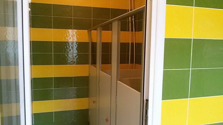 туалетные кабинки в ДОУ от изготовителя