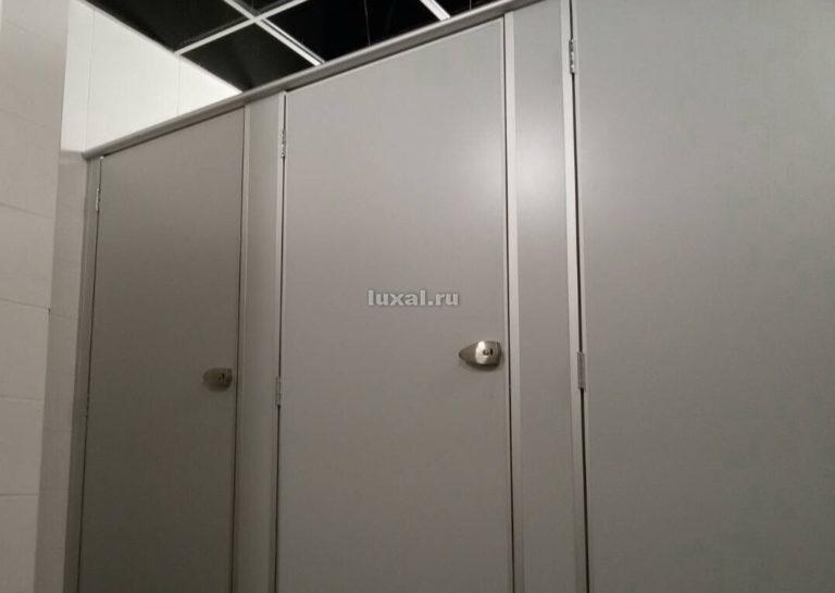 разделительные перегородки между туалетами с дверцами из дсп