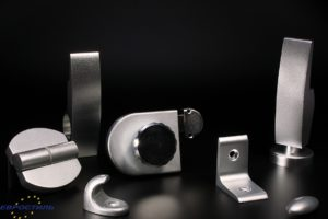 Фурнитура Design для сантехнических перегородок из HPL