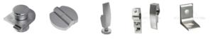 Фурнитура для сантехнических перегородок из HPL пластика